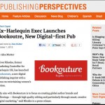 Bookouture launch press coverage - Publishing Perspectives