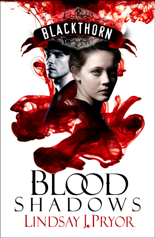 Blood Shadows by Lindsay J. Pryor - book cover design
