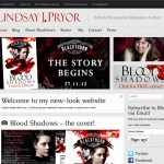 Lindsay J. Pryor author website - home page