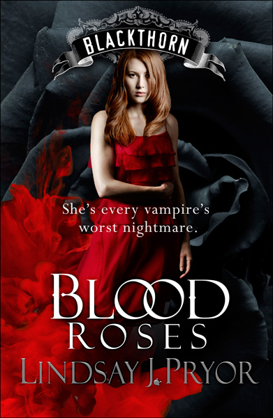 Blood Roses book cover design