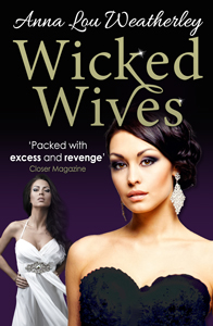 anna lou weatherley wicked wives book cover