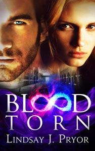 blood torn lindsay j pryor book cover