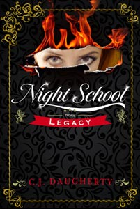 night school legacy cj daugherty book cover