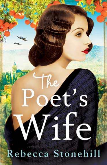 The Poet's Wife by Rebecca Stonehill book cover