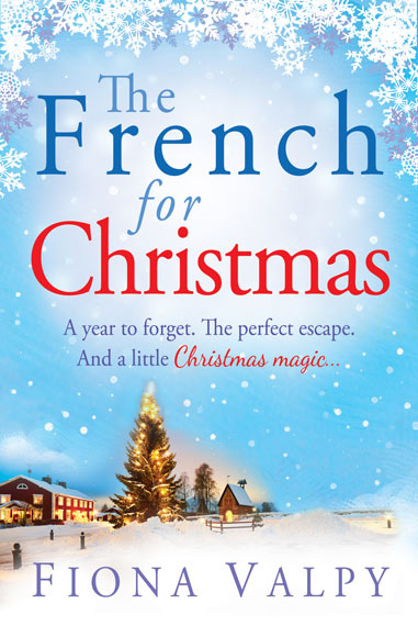 The French for Christmas Fiona Valpy book cover