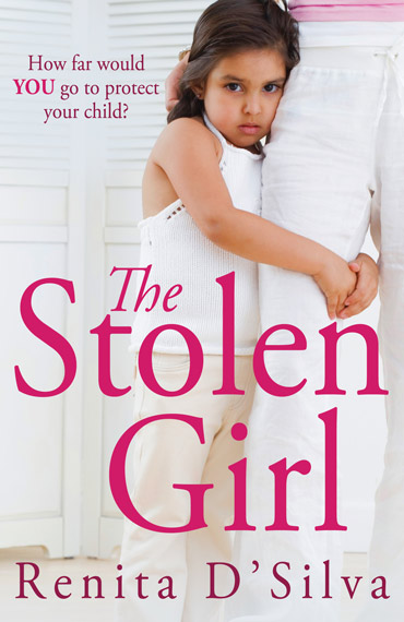 The Stolen Girl Renita D'Silva book cover
