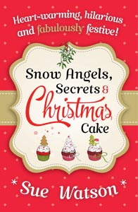 snow angels secrets and christmas cake book cover