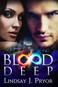 Blood Deep Lindsay Pryor book cover