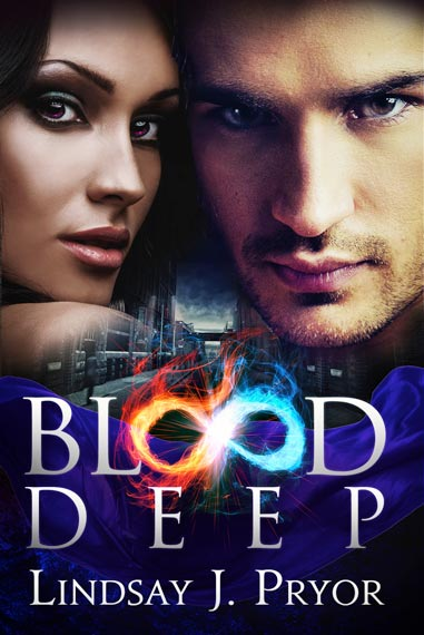Blood Deep Lindsay J Pryor book cover