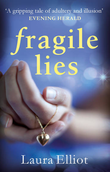 Laura Elliot Fragile Lies book cover