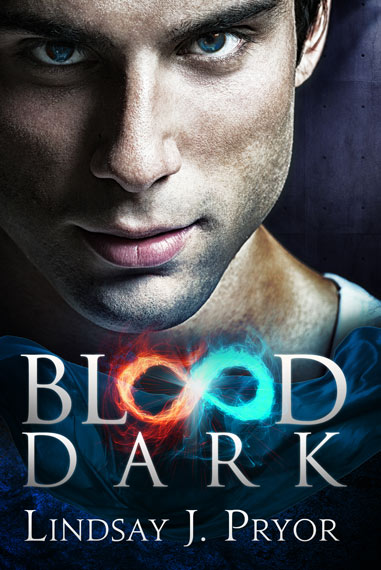 Lindsay J Pryor Blood Dark Paranormal Romance Book Cover