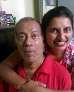 Renita and her dad