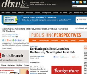 Bookouture Launch Press Coverage