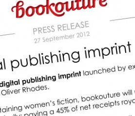 bookouture launch PRESS RELEASE